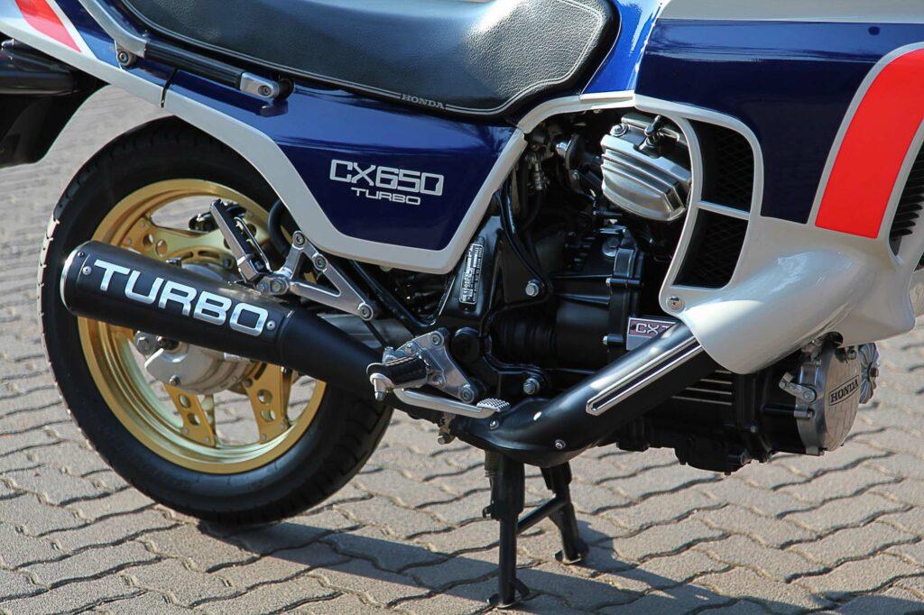 Die CX 650 Turbo leistete 100 PS