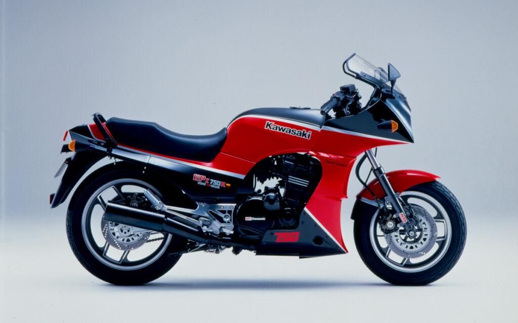 Die GPZ 750 R war für den japanischen Heimatmarkt aufgelegt worden