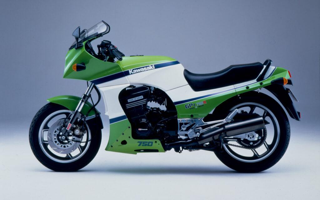 Die Kawasaki GPZ 750 R kam 1984 auf den Markt