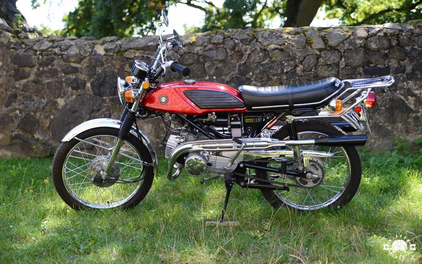 Die sensationelle Suzuki T 125 Stinger – agiler Zweitakt-Burner mit ...