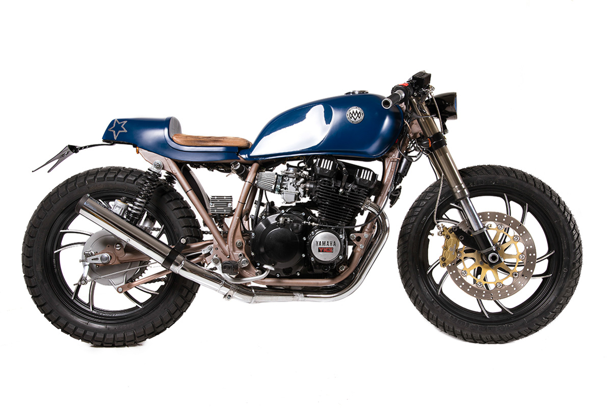 Honda Cafe Racer Race