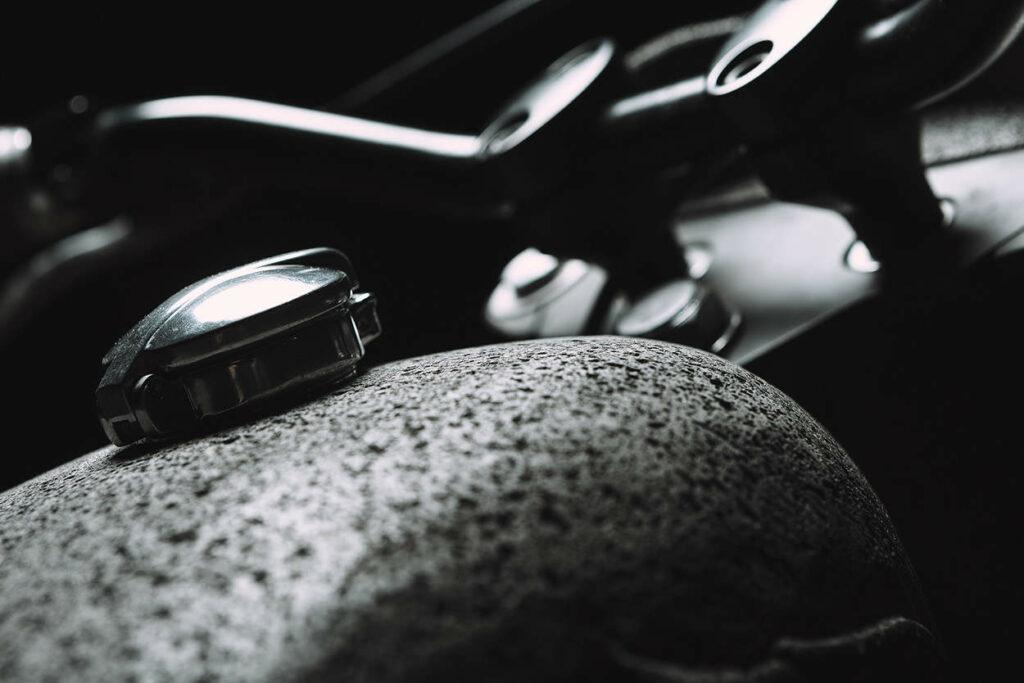 Honda CX 500 aus Basalt