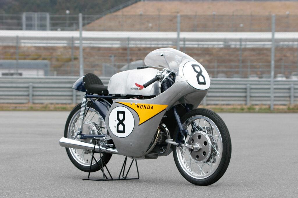 Mit der Honda RC142 feierte Honda 1959 Erfolge bei der Isle of Man TT