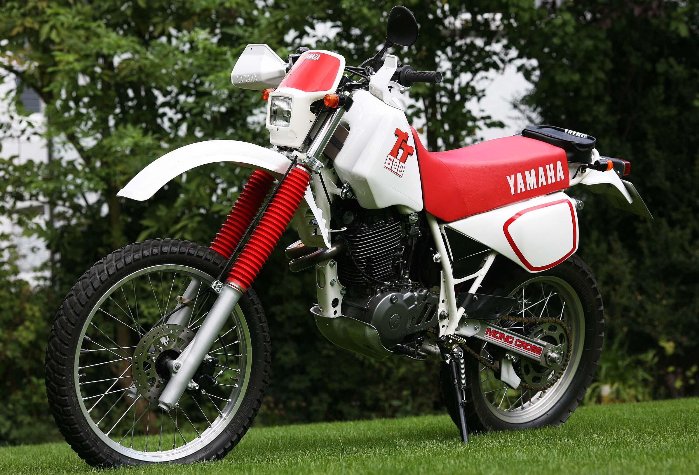 Yamaha tt 600 waschechte hard enduro f r den wettbewerb for Yamaha suzuki of texas