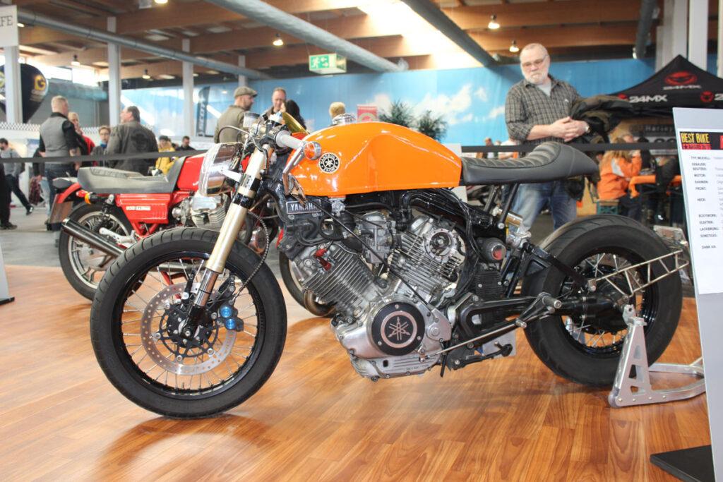 Motorradwelt Bodensee 2017 - Fast schon ein klassischer Umbau einer Yamaha TR1