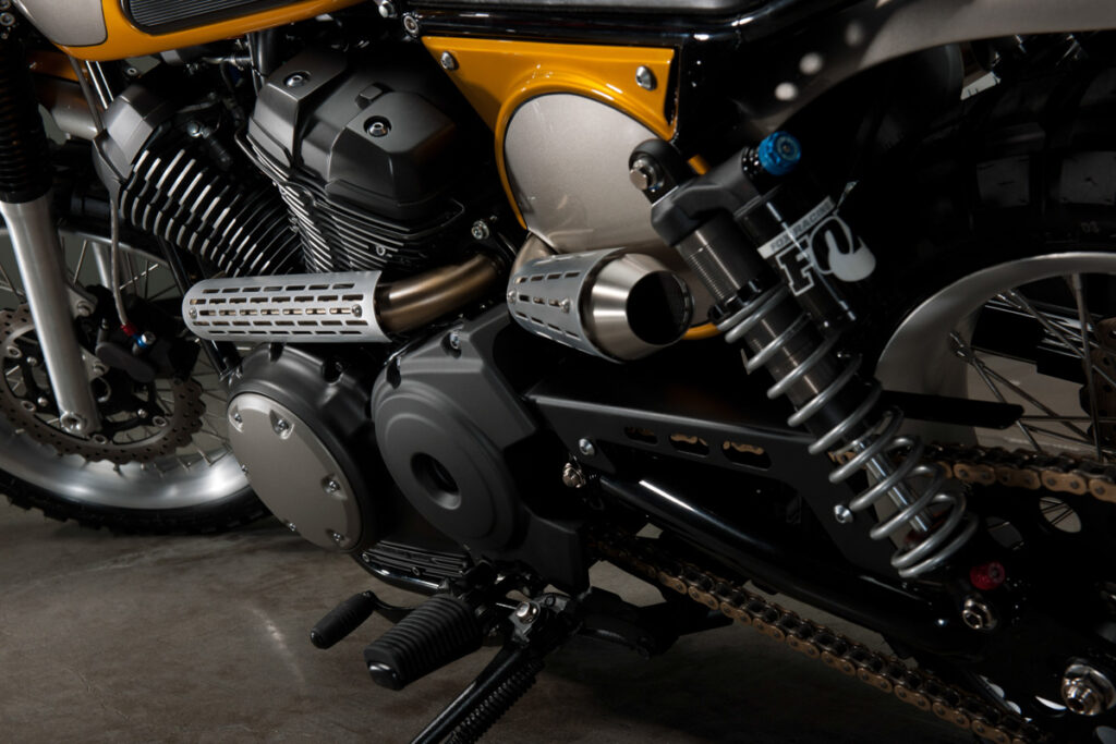 Für Jeff Palhegyi Designs war die SCR950 die logische Wahl für ein neues Custom-Projekt