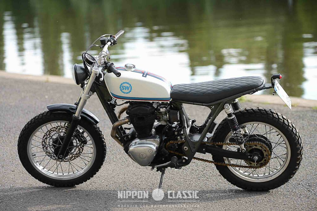 "Schlachtwerk Kawasaki W 650 ""Macaco Racing"""