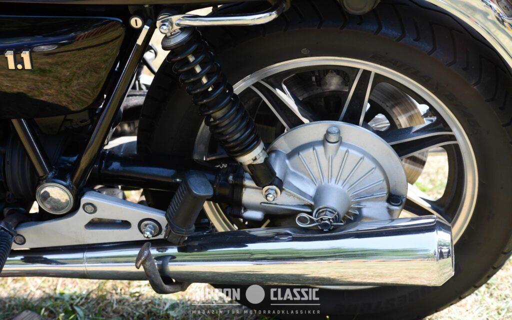 Zum laufruhigen Motor der Yamaha XS 1100 gesellte sich ein wartungsfreier Kardanantrieb