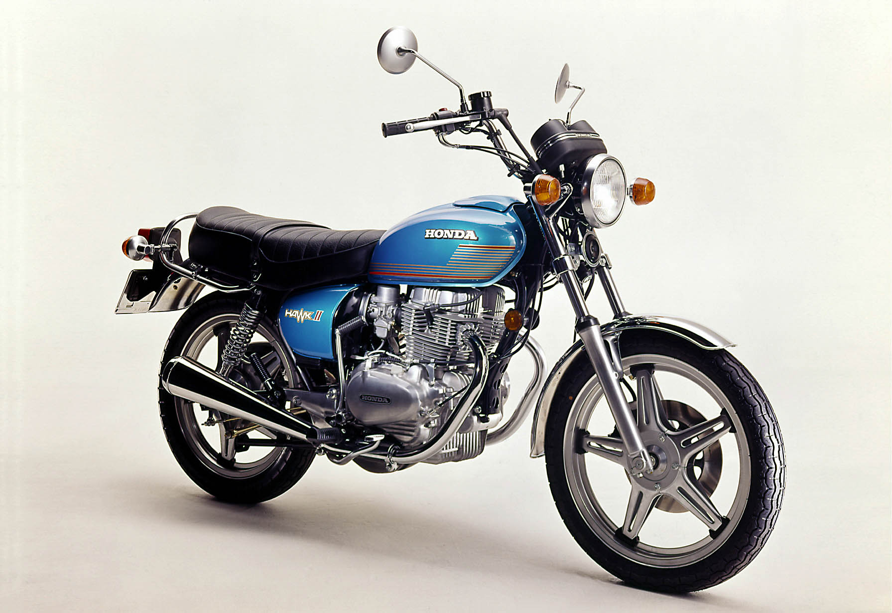 Honda CB 400 T aus dem Jahr 1977