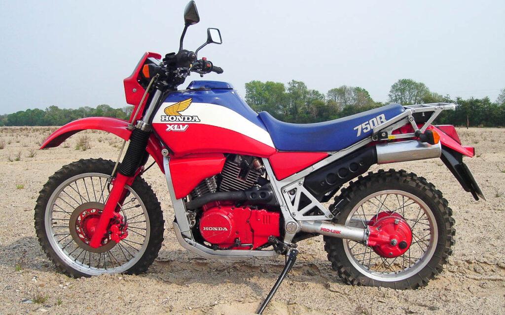 Mit 308 Exemplaren gehört die Honda XLV 750 heute zu den Exoten
