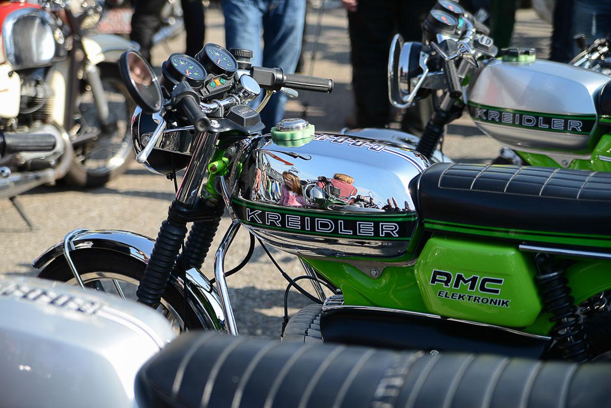 Mopedhersteller Kreidler meldete 1982 Konkurs an