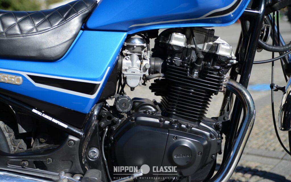 """Die Suzuki GR 650 versprach """"Dampfhammer-Feeling"""""""