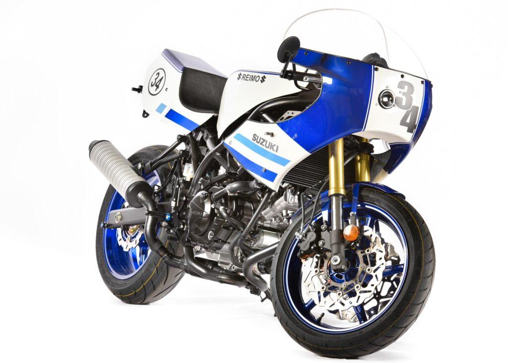 Reimo's Classic Racer erinnert an die Suzuki RGV 500