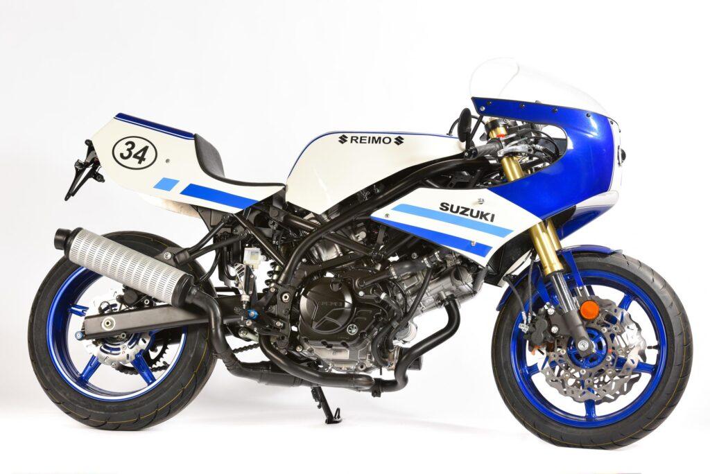 Außergewöhnlicher Umbau von Reimo-Suzuki: Suzuki SV 650 'Classic Racer'