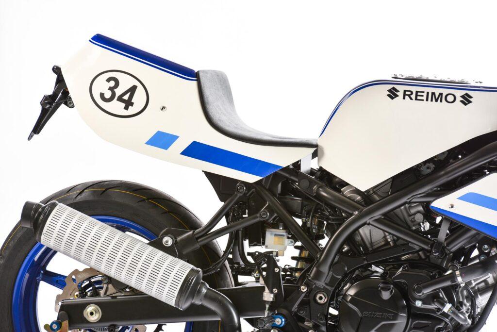 ...was man dem SV650 Classic Racer auch sofort ansieht