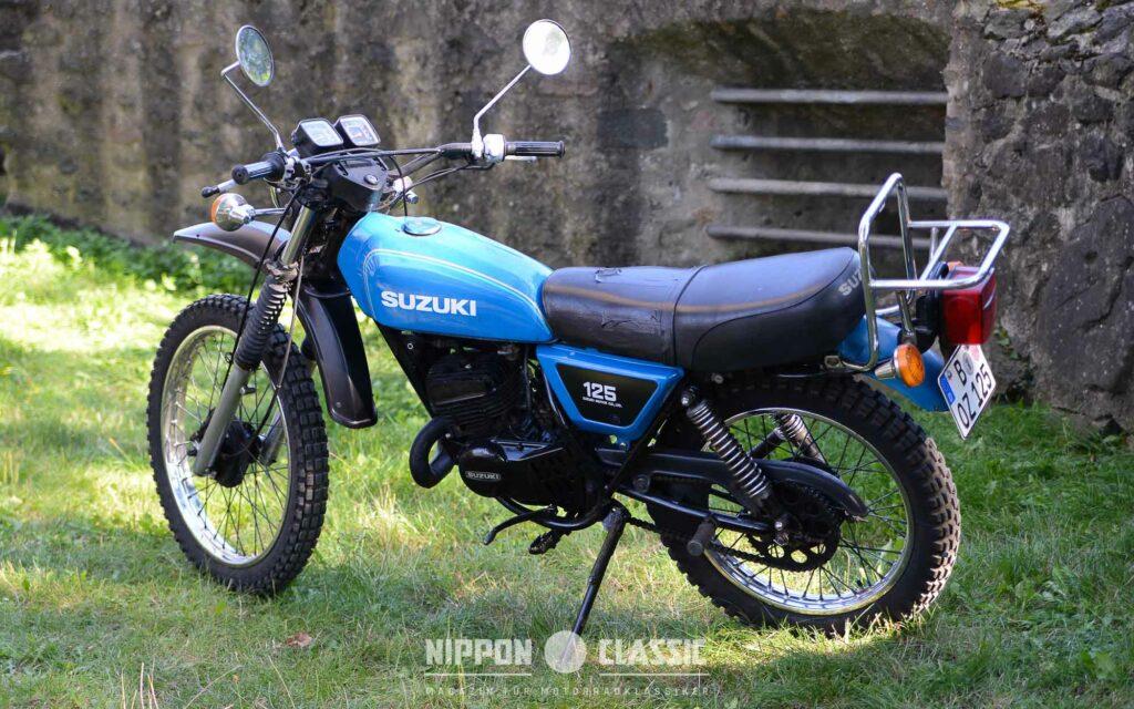 Die Suzuki TS 125 mit sprichwörtlicher Zuverlässigkeit und leichtem Handling