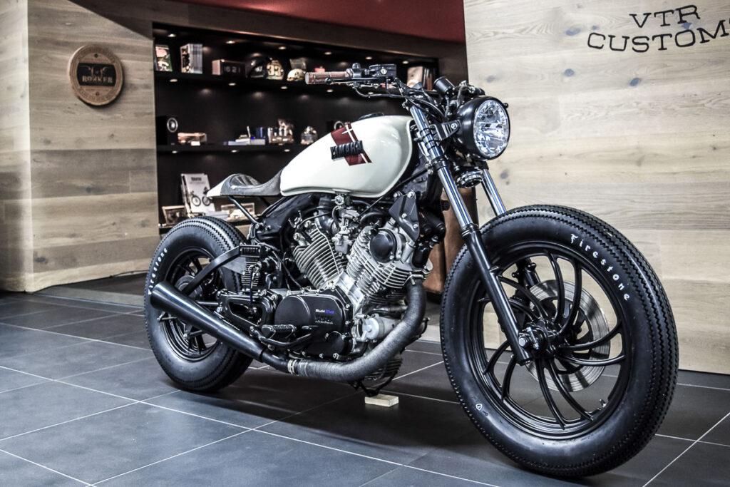 Die Yamaha XV 750 ist als Umbaubasis in der Custom Szene extrem beliebt