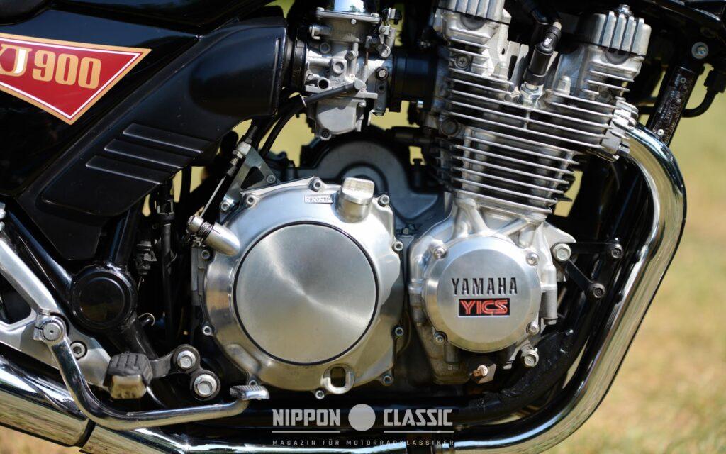 Der Motor der Yamaha XJ 900 basiert auf dem Triebwerk der zuverlässigen XJ 650
