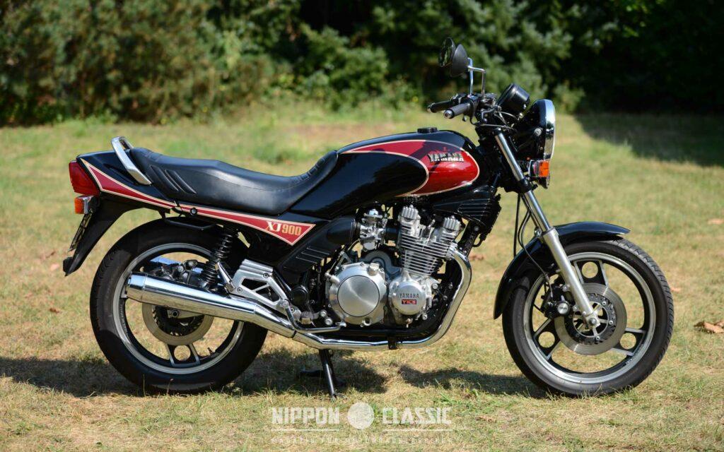 Die XJ 900 Honda war Yamahas Antwort auf die CB 900 F Bol d´Or und ...