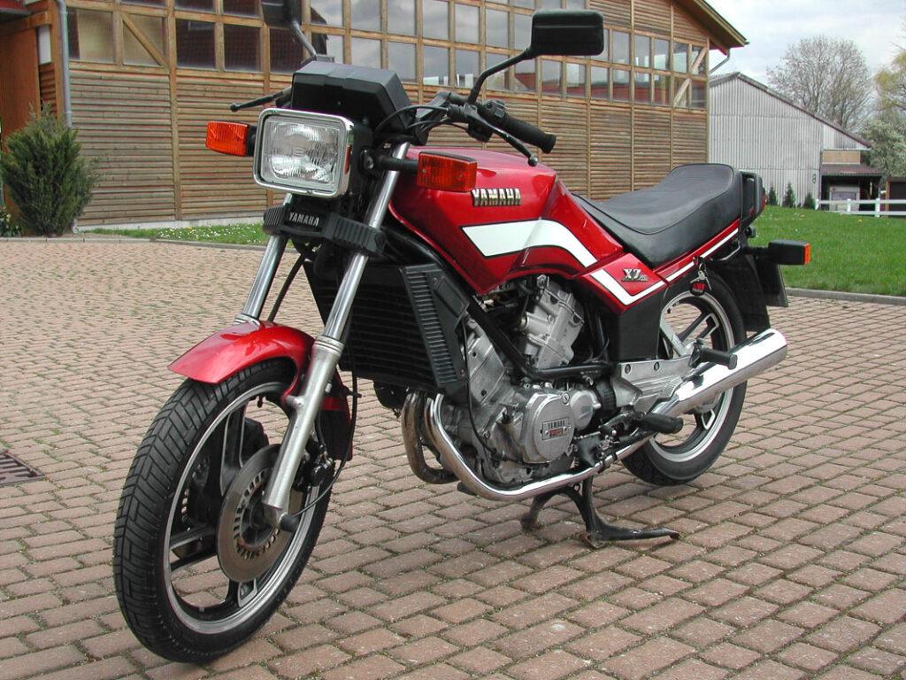 Geringe Verkaufszahlen machten aus der Yamaha XZ 550 eine Flop