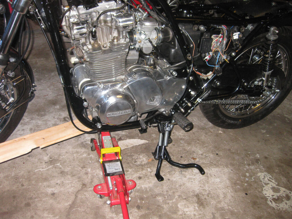 Kawasaki Z750 Restauration