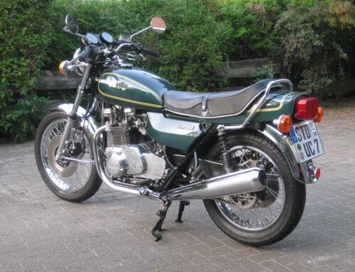Tagebuch einer Kawasaki Z 750B Restauration – 4. Teil