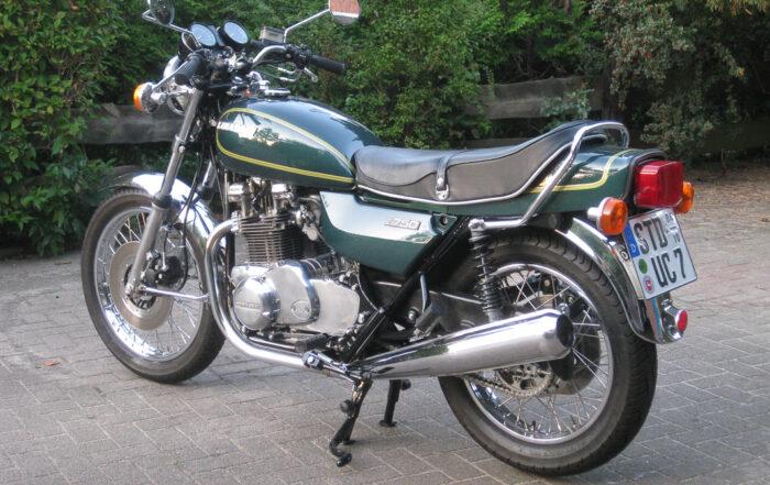 Kawasaki Z 750B Restauration