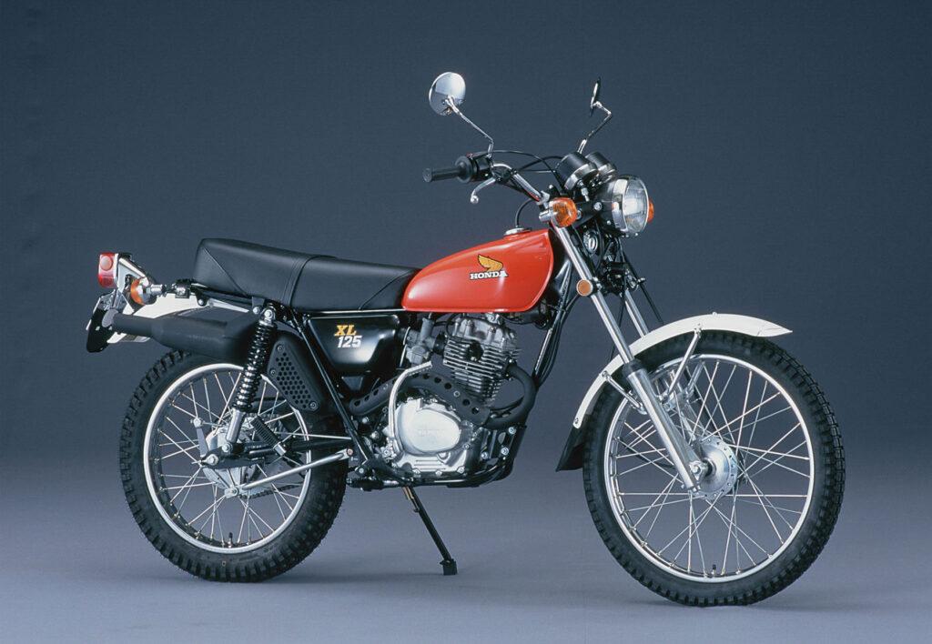 1975 wurde aus der SL die Honda XL 125