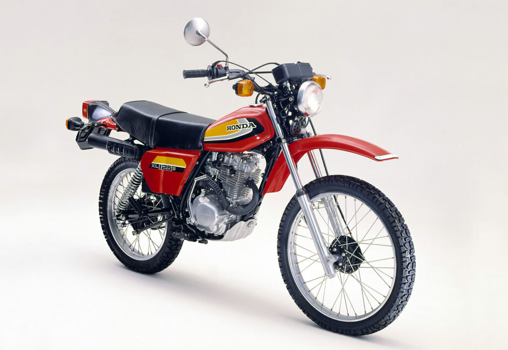 1978 überarbeitete Honda die XL 125 radikal