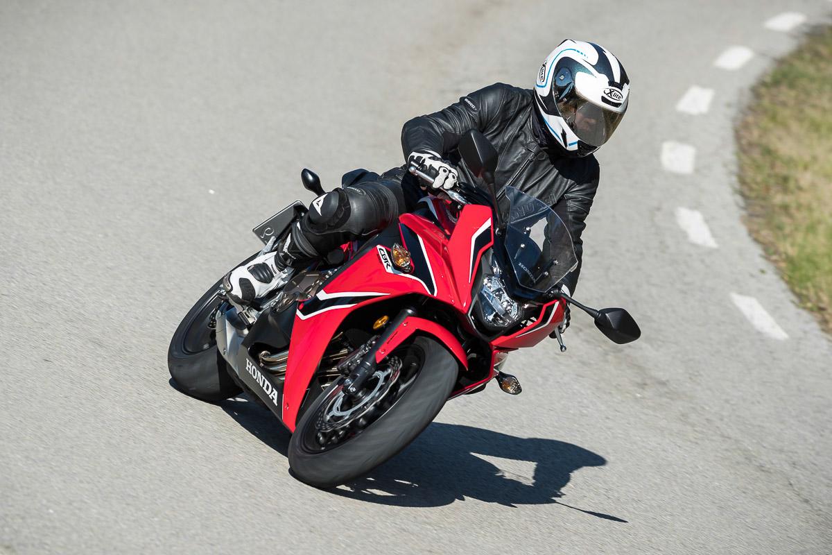 Alternativ Gibt Es Die Sportliche CBR650F Foto Honda