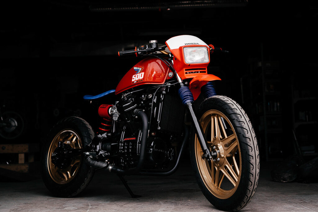 Honda CX 500 Tracker