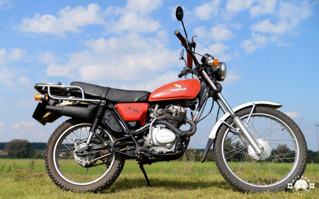 Von der Honda XL 125 wurden über 300.000 Exemplare gebaut