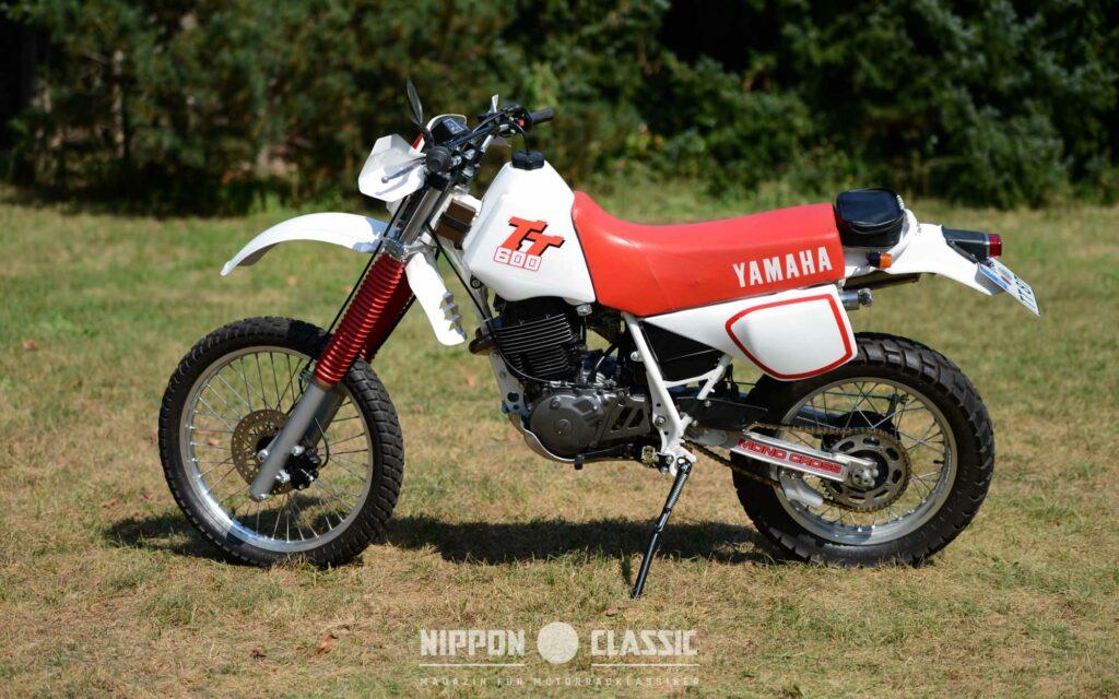 Die Yamaha TT 600 war als Hard-Enduro bekannt und berühmt