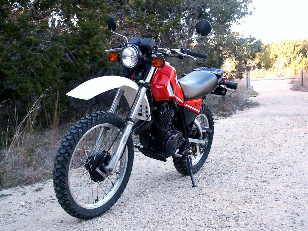 Yamaha Xt 550 Fuel Tank