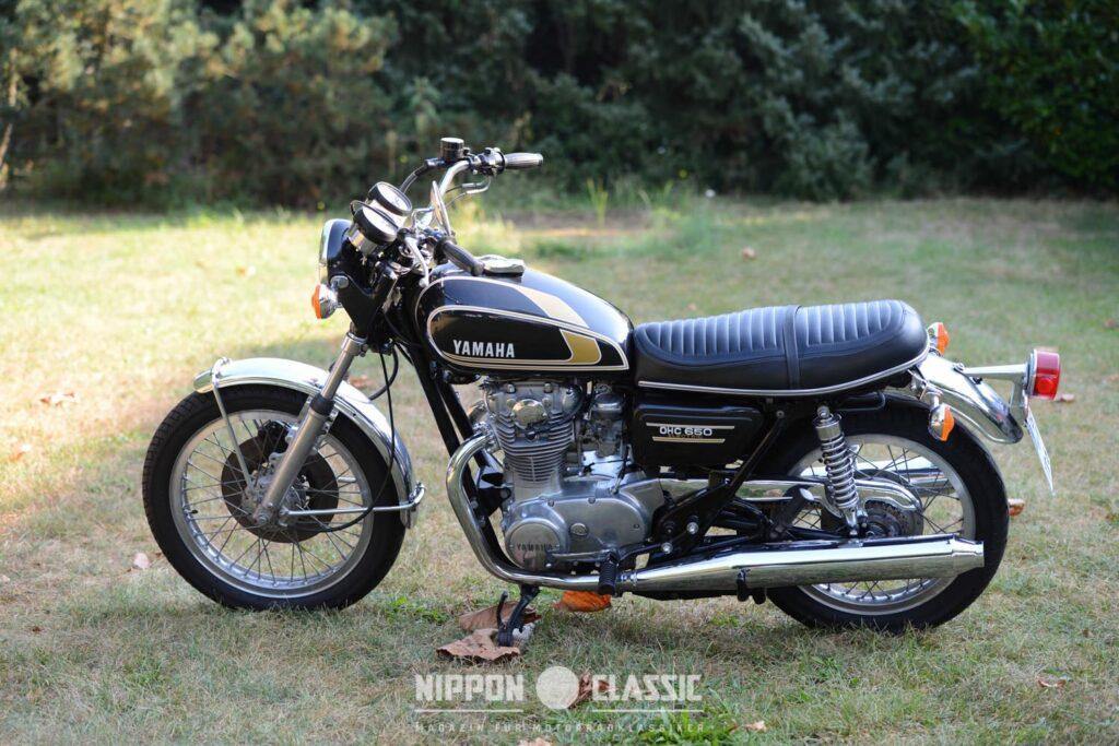 """Die Yamaha XS 650 ist ein alltagstauglicher Oldtimer mit """"britischen"""" Charaktereigenschaften"""