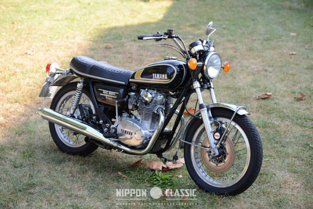 Das US-Modell Yamaha TX 650 von 1974
