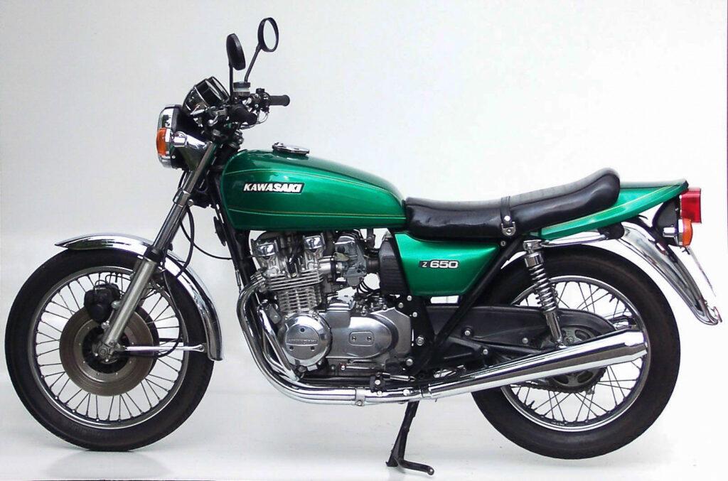 Gelungenes Design: Kawasaki Z 650 B