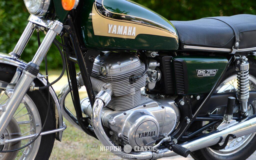 Nur 1.300 TX 750 wurden 1973 bis 1974 verkauft