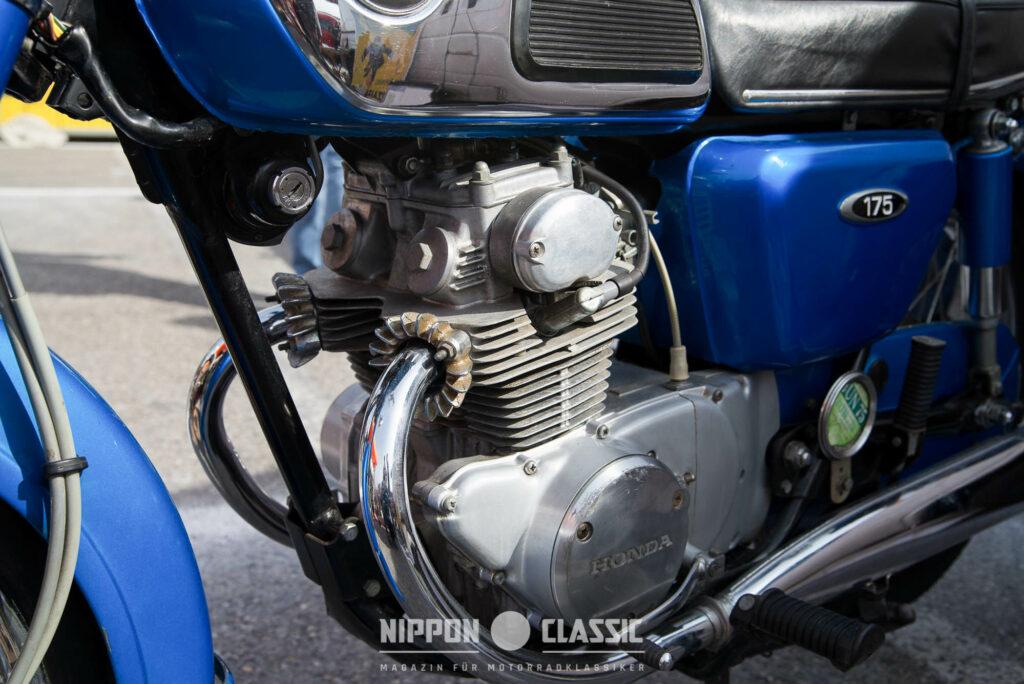 Der CD 175 Motor leistete 15-17 PS