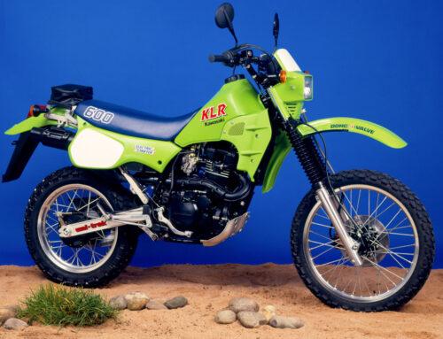 Kawasaki KLR 600 – Limetten-Grün ins Gelände