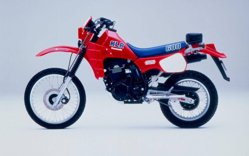Kawasaki KLR 600B von 1985