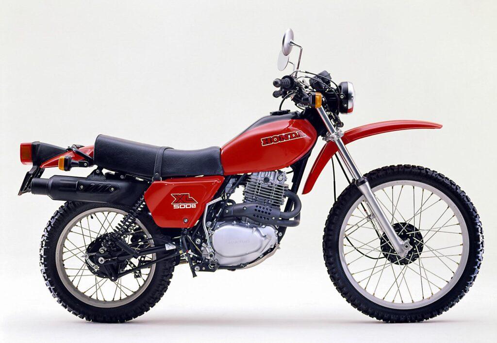 Klassischer Enduro-Look der späten 70er: Honda XL 500