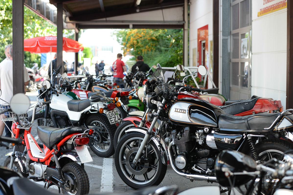 20. Oldietag für Klassische Motorräder am 9. September 2017
