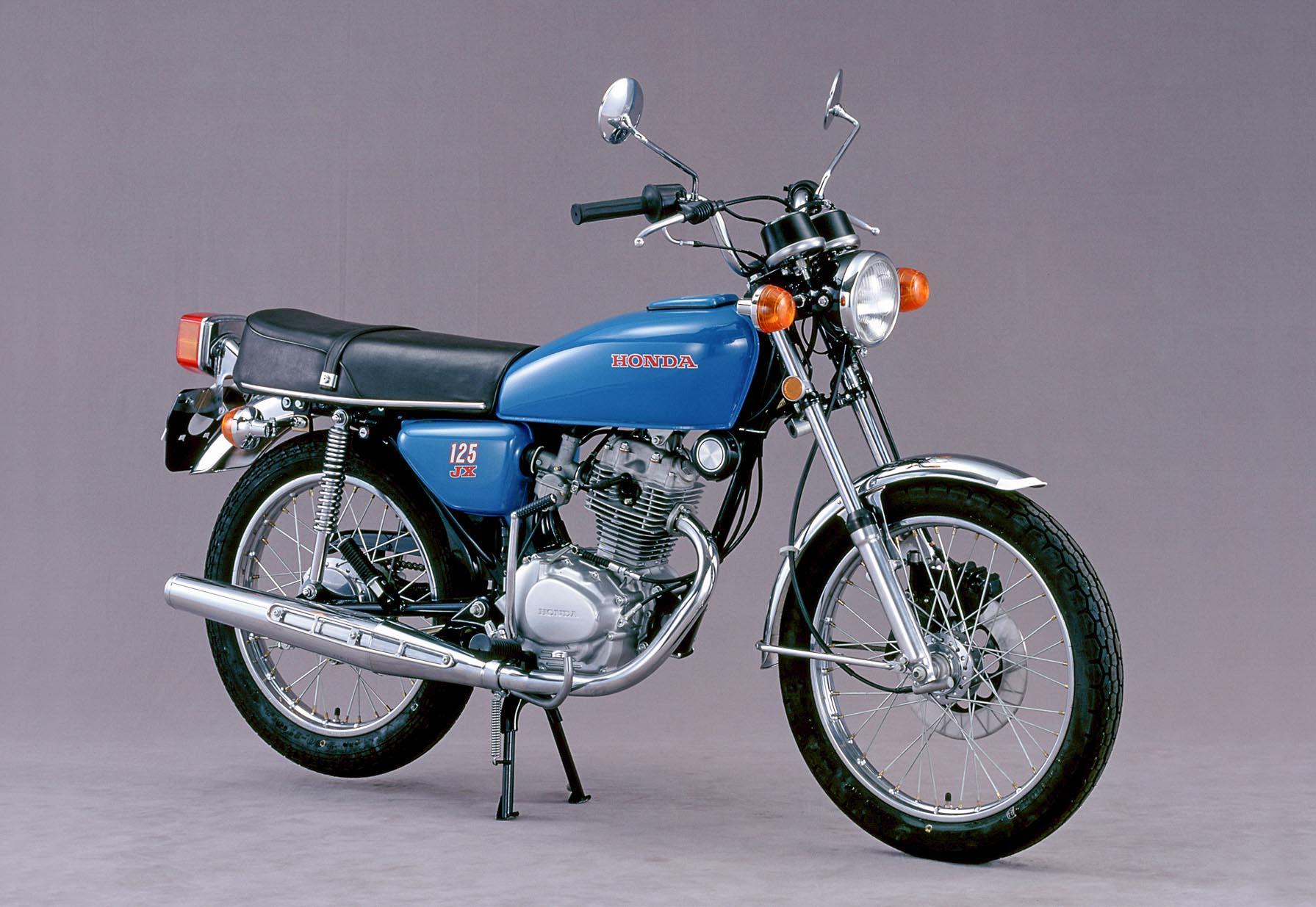 Honda CB 125 Einzylinder mit manueller Scheibenbremse Baujahr 1975