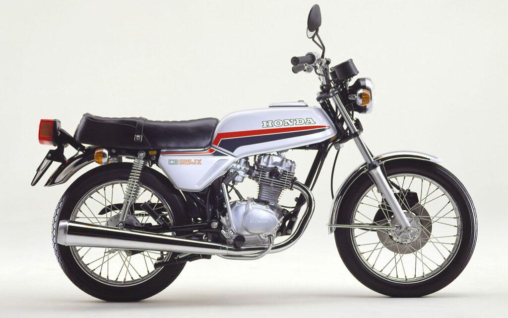"""Honda CB 125 im """"Euroline-Design"""" von 1980"""