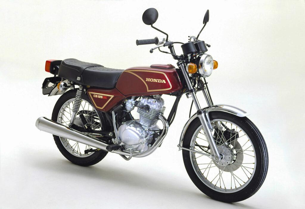 Honda CB 125 Modelljahr 1981