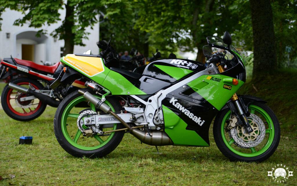 Die Kawasaki KR 250 / KR-1 wurde von 1984 bis 1992 gebaut - hier die KR-1S