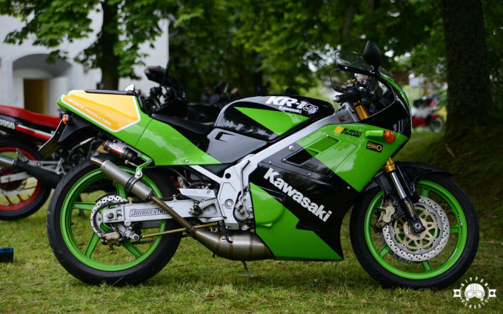 """Die Kawasaki KR 1 lief """"geschmeidige"""" 225 km/h"""