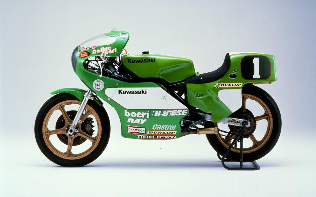 Legendäres Weltmeister-Motorrad - KR 250