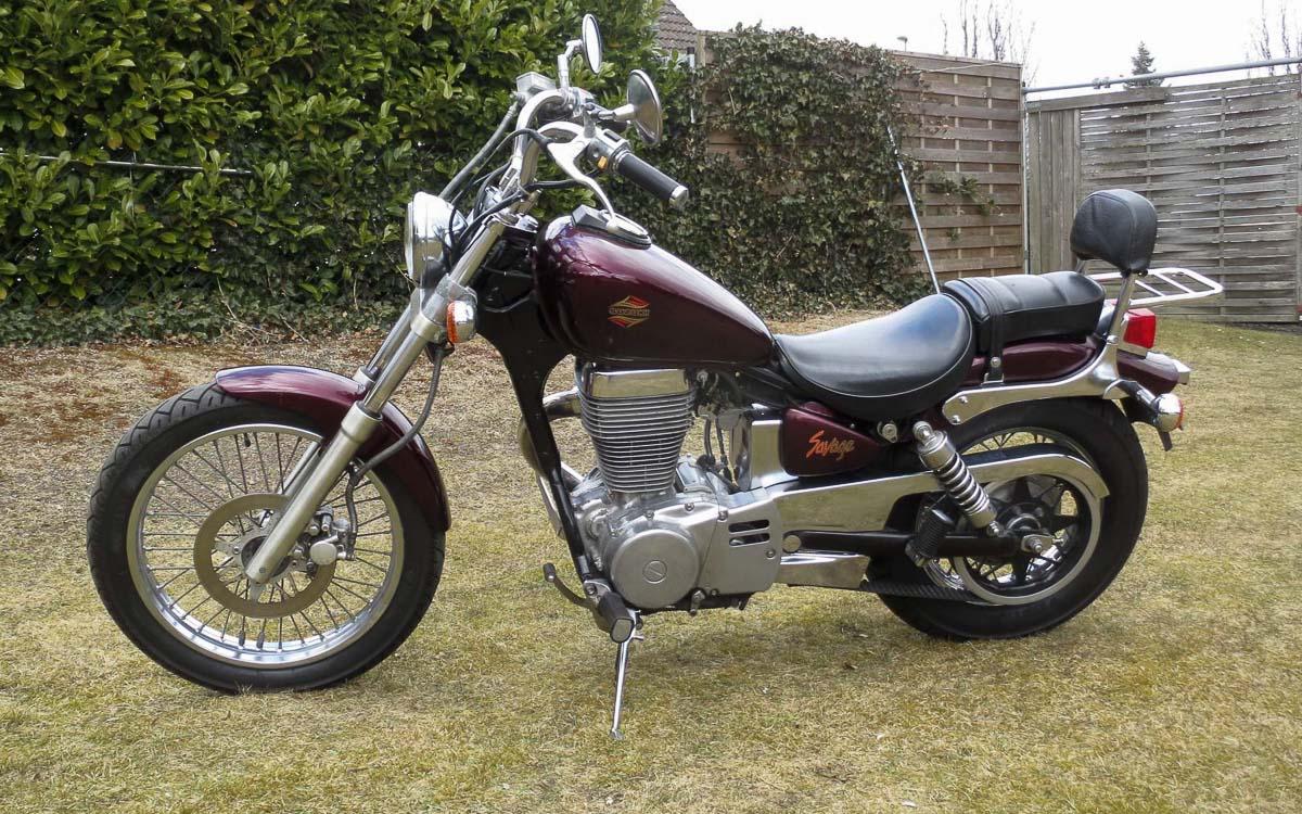 Suzuki ls 650 savage 1986 2000 die sch ne kleine wilde for Yamaha suzuki of texas